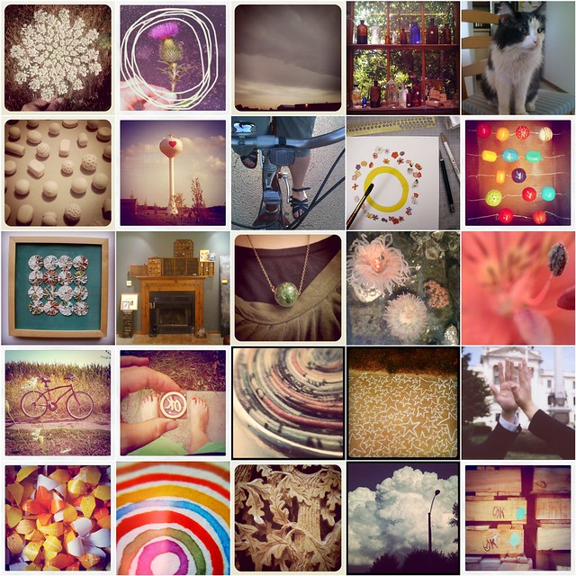Mosaic of my most recent instagrams