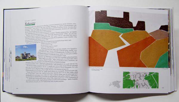 """Aavo Kokk book """"Pintsliga tõmmatud linnad"""", artwork Otto Paju"""