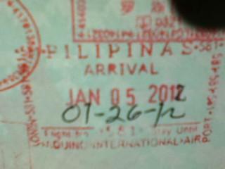 菲律宾入境章