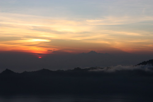 sunrise. view from Batur