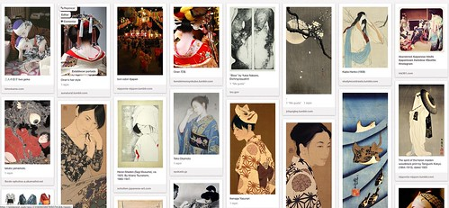 Japanese Art- Neko Naku Pinterest