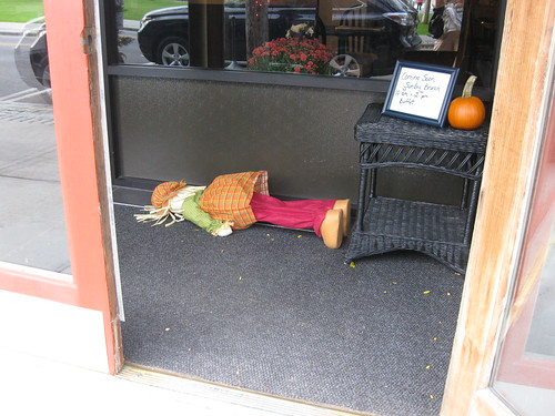 Tired Scarecrow
