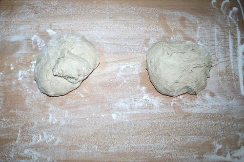 26 - Teig aufteilen / Divide dough