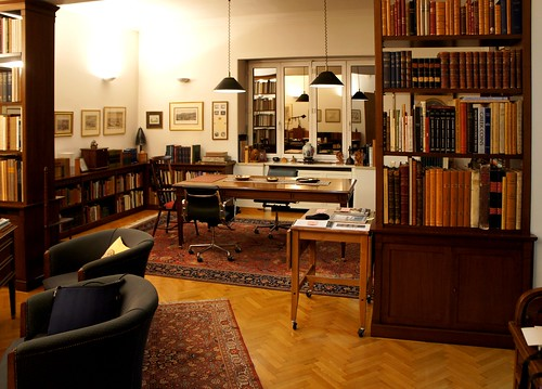Numismatic Library of BCD, Athens, Reading Room panorama