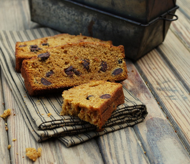 Pumpkin Espresso Chocolae Chip Bread 1