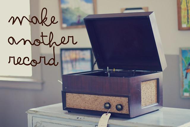 make a record