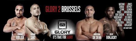 Tonton Siar Perlawanan Kickboxing Antarabangsa Glory 2 Brussels