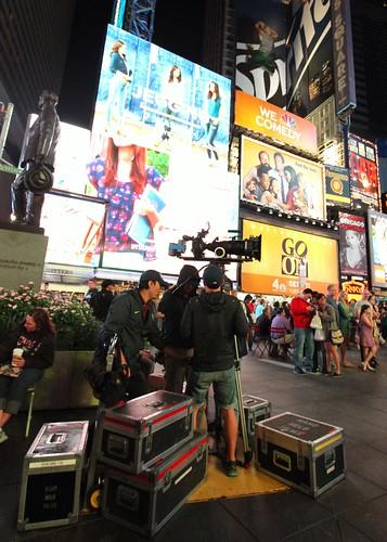 Film Crews @ Times Square