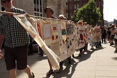 Walking Tapestry to Town Hall