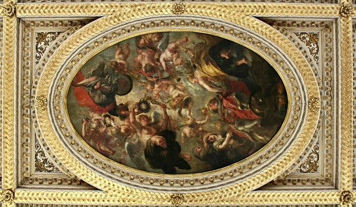 The Apotheosis of James I  by Peter Paul Rubens