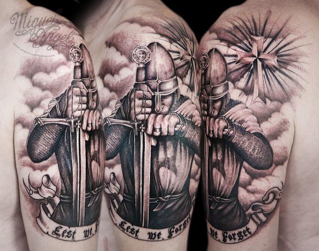Knights Templar Tattoo Designs
