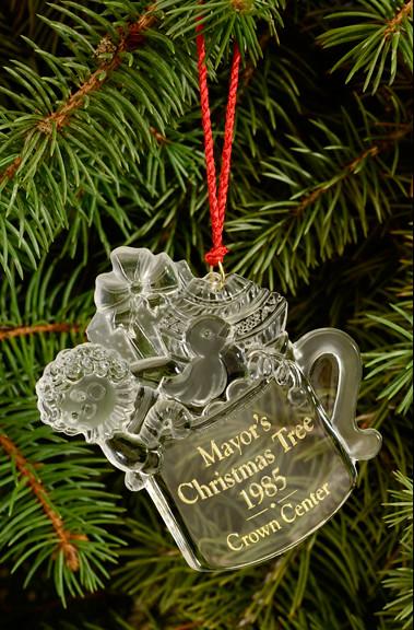 mayor u0026 39 s christmas tree ornament