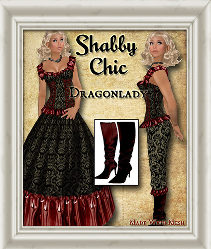 Shabby Chic Dragonlady by Shabby Chics
