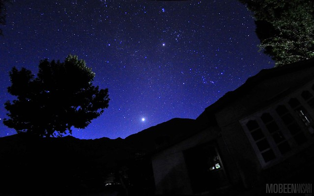 Starry night early morning in Chitral- EXPLORED!