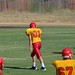 Jack at wide receiver on offense against Rio Americano