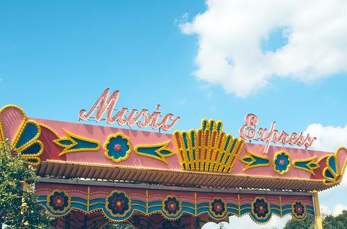 Hershey Park Music Express.