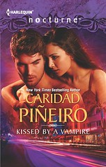 October 16th 2012 by Harlequin              Kissed by a Vampire by Caridad Piñeiro