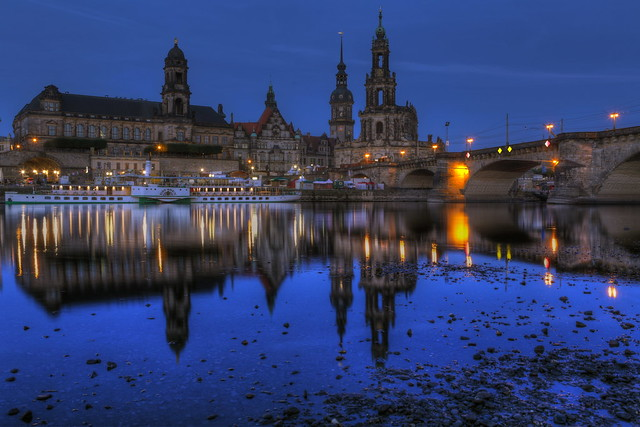 Dresden's Old Town - 5:30AM