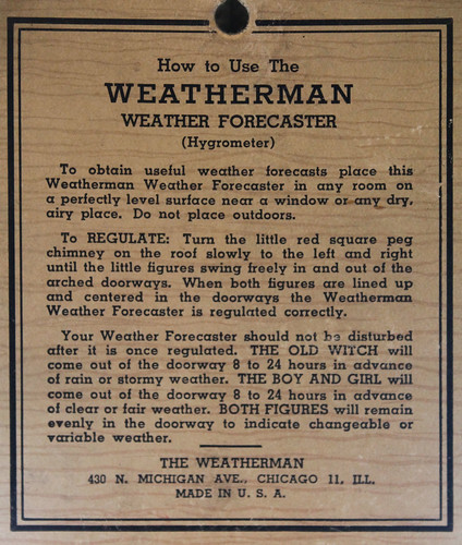 Weatherman Back