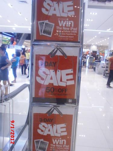 SM City Manila 3 Day Sale KNT 9