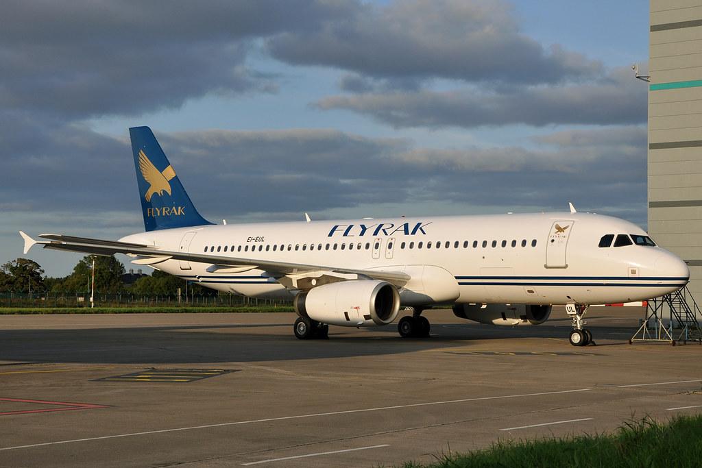 EI-EUL / A6-TIA   A320-232 FLYRAK
