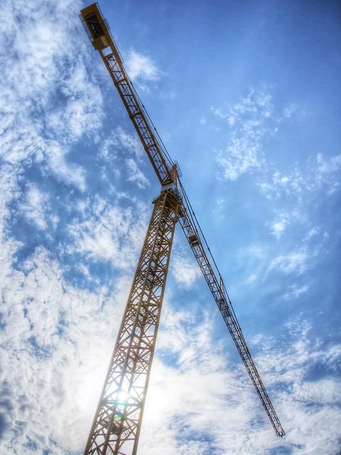 Cranes, cranes, everywhere cranes