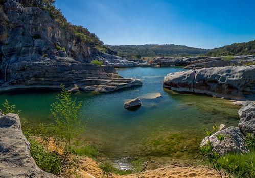 statepark panorama nature america landscape texas pedernalesfall