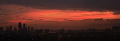 Sunset over City Centre Mississauga