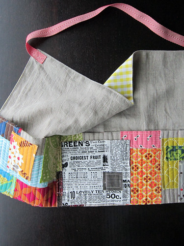Patchwork Style apron
