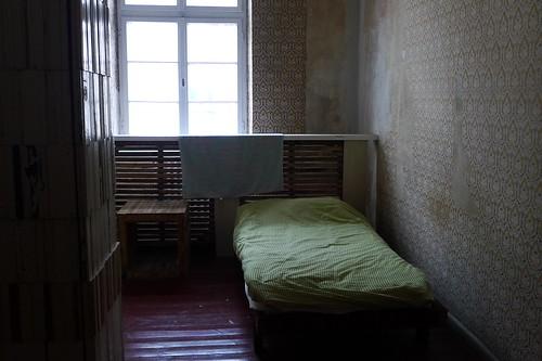 Schlafzimmer im Hugenottenhaus