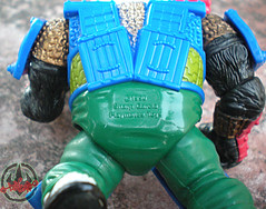 TEENAGE MUTANT NINJA TURTLES :: PANDA KHAN / SCRAMBLED VARIANT xiv (( 1990 ))