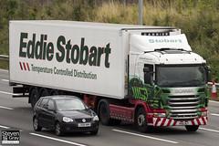 Scania G400 4x2 Tractor - PK10 DLF - Aimee Mae - Green & Red - Eddie Stobart - M1 J10 Luton - Steven Gray - IMG_5987
