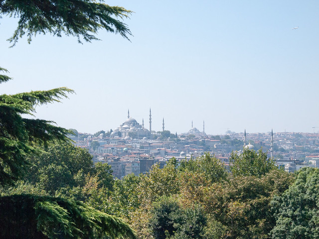 Blue Mosque view from Topika Palaca