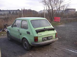 Fiat Polski 126p in Poznan