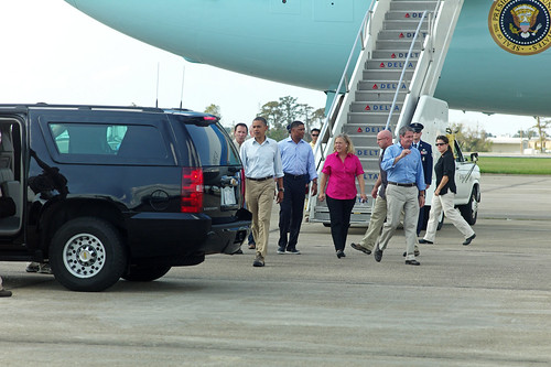 President Obama visits Gulf after Hurricane Isaac