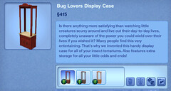 Bug Lovers Display Case