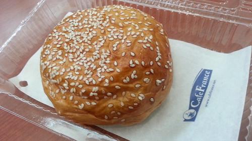 Cafe France NAIA braised pork bun
