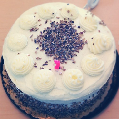 Cake from my sweet coworkers :)