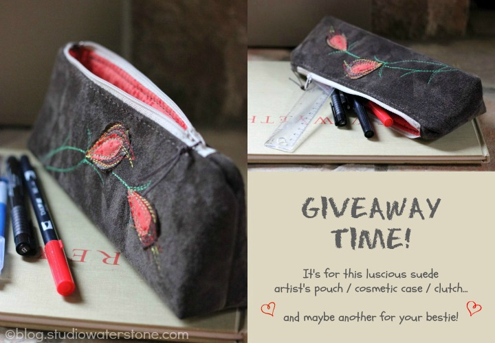 studio waterstone bag giveaway
