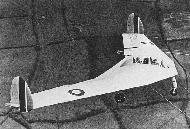 Armstrong Whitworth A.W.52 1st prototype glider