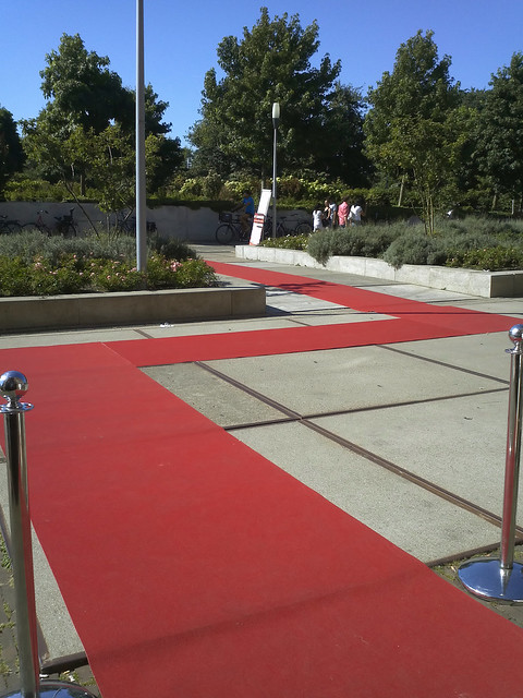 Red carpet for the arts