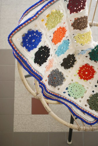 an autumn baby boy blanket by wood & wool stool