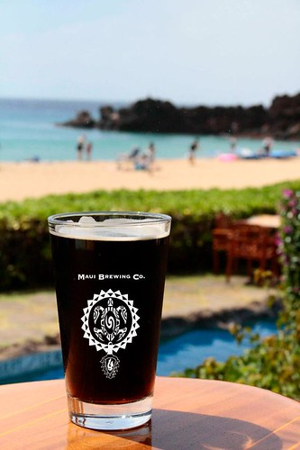 Black Rock Lager at Sheraton Maui