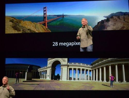 Панорамное фото iPhone 5