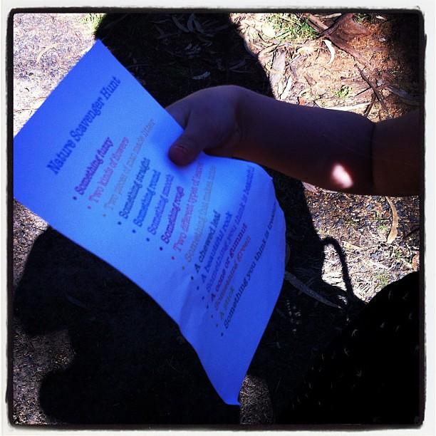 Working through the list #scavengerhunt
