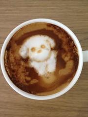 Today's latte, @xaxtsuxo.