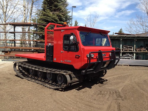 All Track all terrain tracked vehicle