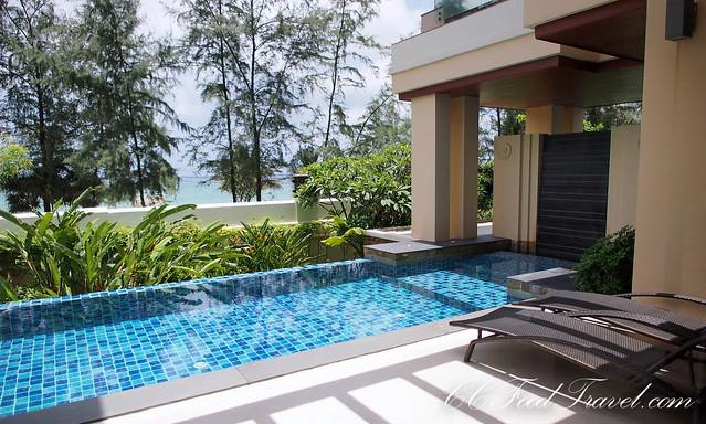 sea view pool suite 2 bedroom the pool and beach beyond