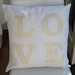 cushion 'love'