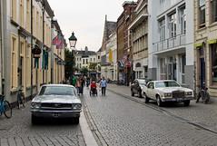 Breda - Anciennes américaines dans la rue